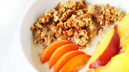 Granola vanille et fruits d'été