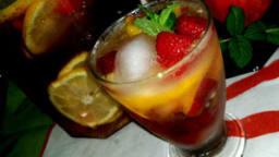 Boisson d'été aux saveurs fruitées