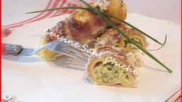 Cannelloni au jambon cru et courgette