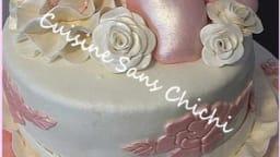 Gâteau sur le thème de la danse classique