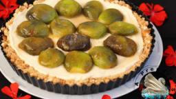 Tarte aux figues et mascarpone sans cuisson
