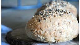 Petits pains aux 6 céréales à la farine pour pain Soubry