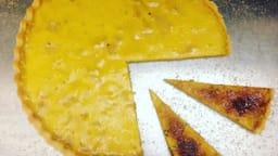 La tarte aux pommes façon crème brûlée