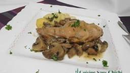 Gigolettes de lapin aux champignons