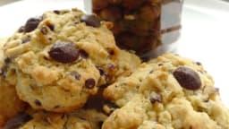Cookies rustiques aux pépites de chocolat et aux noisettes