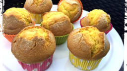 "Madeleine espagnole au citron façon "" muffin """
