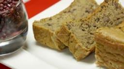 Cake moelleux et sucré aux haricots rouges
