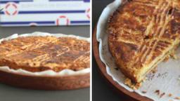 Gâteau breton au caramel
