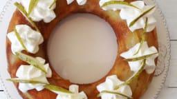 Quatre-quarts miel citron poire