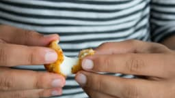 Cromesquis de mozzarella au thym