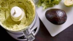Sauce alcaline : à l'avocat et au cresson
