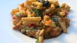 Salade de macaroni au poulet