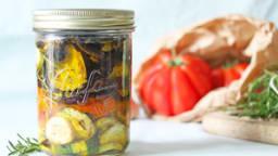 Antipasti: légumes marinés à l'italienne