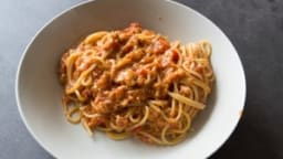 One pot pasta thon et tomate