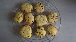 Cookies à la noix de coco et au chocolat