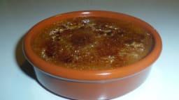 Crème brûlée à la chicorée