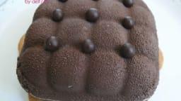 Mini coussins biskelia caramel