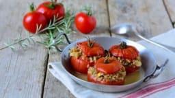Tomates farcies végétariennes