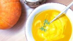 Soupe au potimarron et aux châtaignes