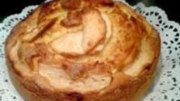 Gâteau de yaourt aux pommes