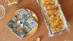 Tiramisu aux pommes et caramel