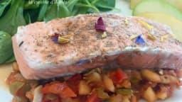 Salade de saumon acidulée aux pommes