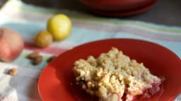Crumble de fruits d'été