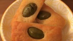 Mes financiers parmesan olive