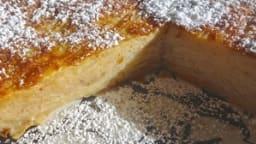 Gâteau invisible aux poires