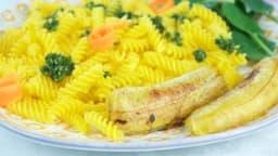 Bananes plantain rôties