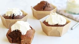 Petits cakes à la betterave et au chocolat