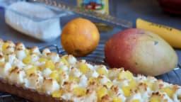 Tarte mango-coco-a