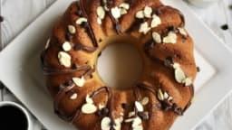 Gâteau facile aux amandes et au chocolat