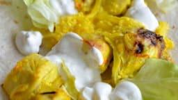Poulet au safran et au citron جوجه کباب