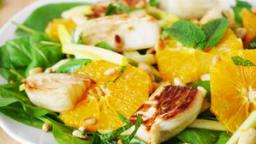 Salade de fenouil à l'orange et à la pomme