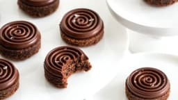 Sablés chocolat noisettes