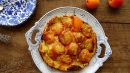 Dessert aux abricots et au thym de la Montagne Noire