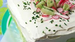 Pain surprise cake