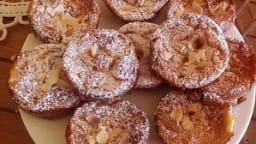 Petits clafoutis pommes, poires
