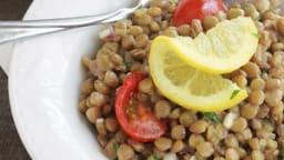 Salade de lentilles froide