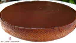 Tarte chocolat sésame