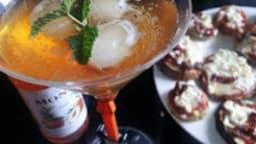 Cocktail demi-pêche