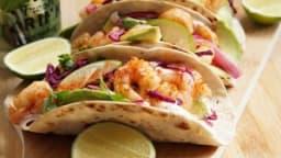 Tacos de crevettes