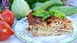 Lasagne aux courgettes et aubergines