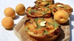 Tarte abricots et pistache