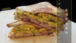 Sandwich à l'oeuf coréen