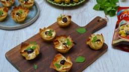 Baklava aux Olives Apéro antipasti artichaut