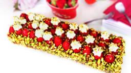 La sublime tarte fraise pistache de Christophe Michalak