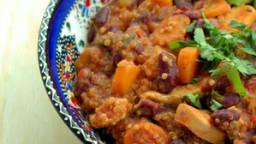 Chili con quinoa