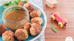Boulettes de poulet au basilic thaï